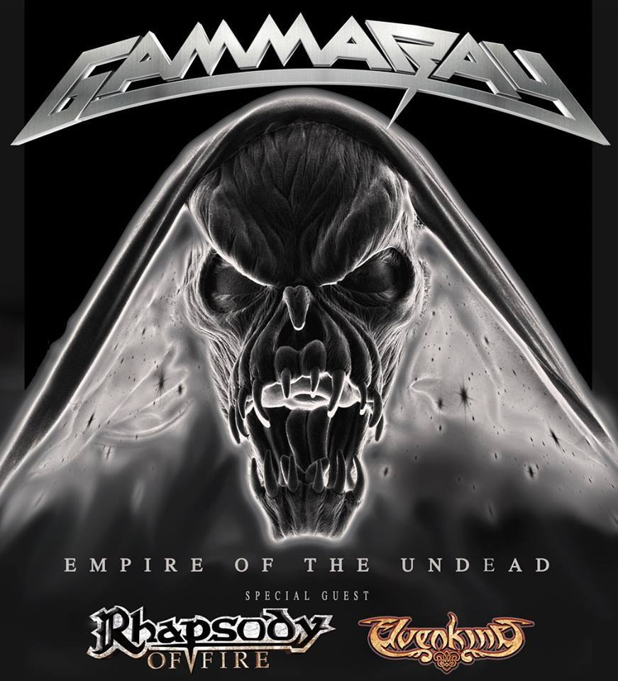 MORE DATES WITH GAMMA RAY AND RHAPSODY OF FIRE
