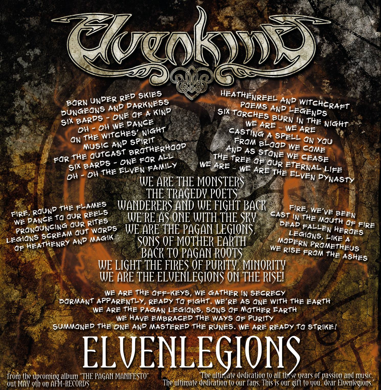 ELVENLEGIONS videoclip & lyrics