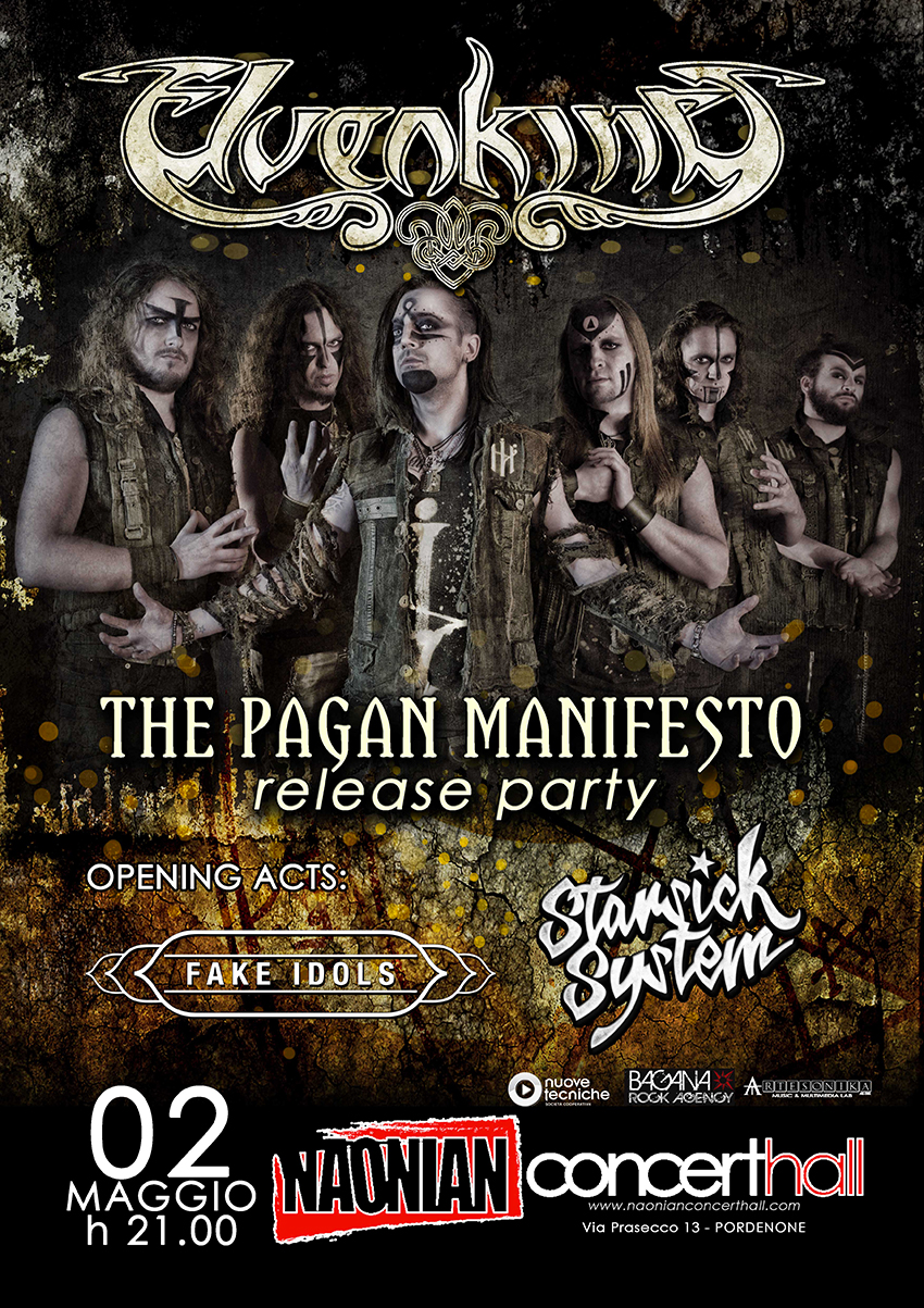 THE PAGAN MANIFESTO Release Party