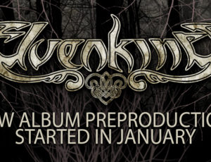 NEW ALBUM PRE-PRODUCTION