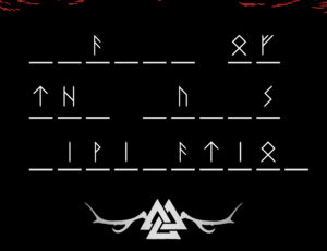 THE RUNES ARE SPEAKING