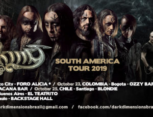 SOUTH AMERICAN tour Announced