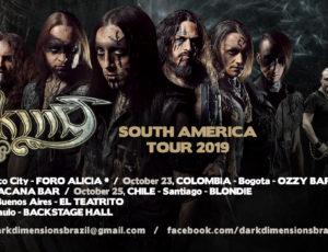SOUTH AMERICAN tour Announced