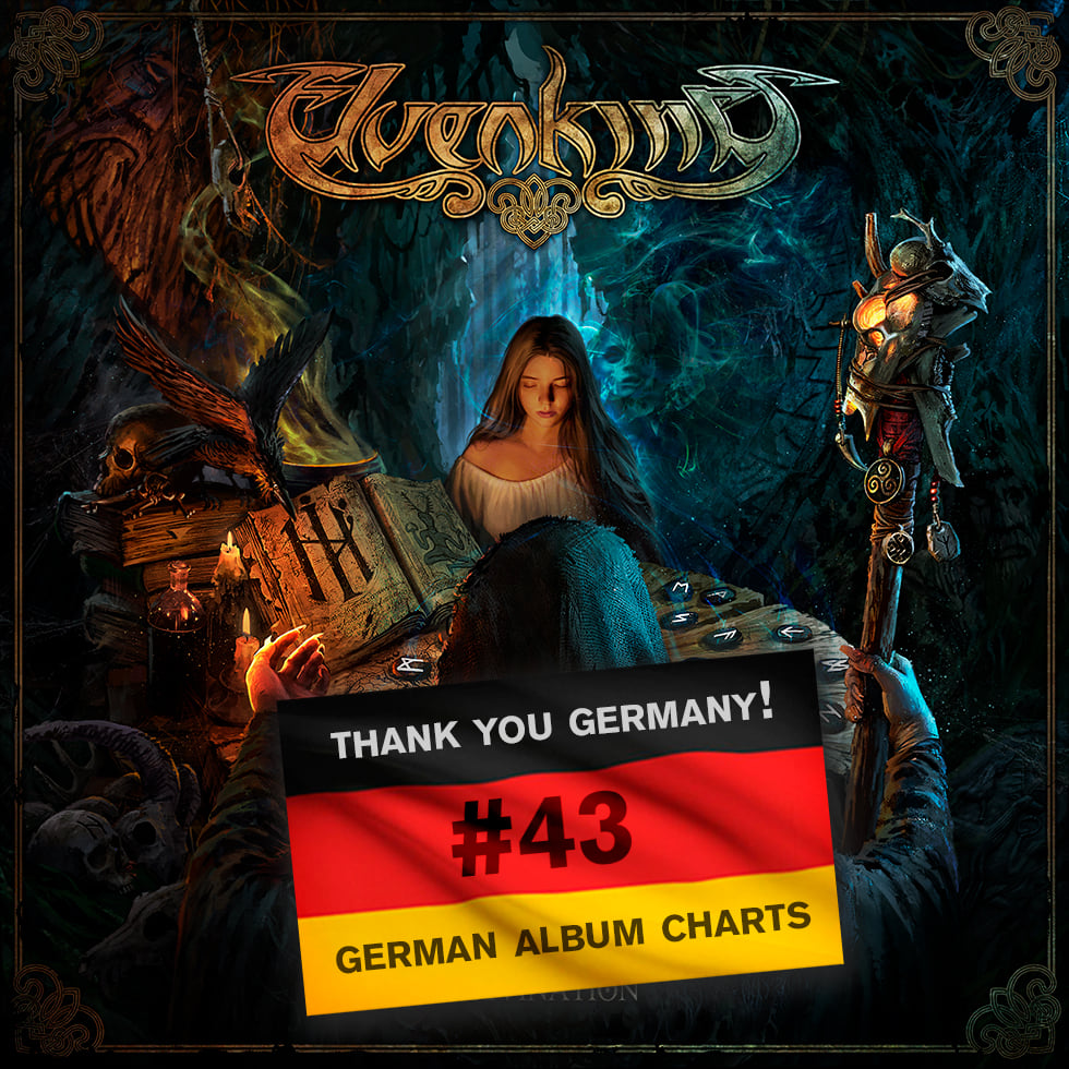 NEW ALBUM ENTERS THE GERMAN CHARTS! — ELVENKING Official Site