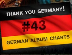 NEW ALBUM ENTERS THE GERMAN CHARTS!